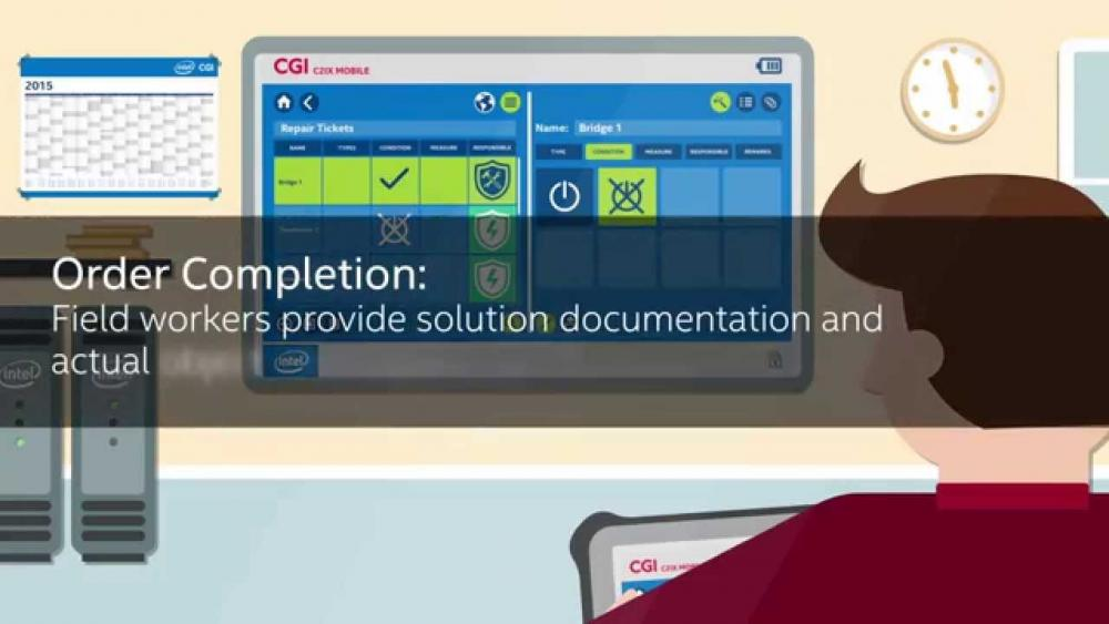 C2IX mobile - An intelligent solution by CGI and Intel