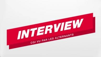 Interview alternants CGI