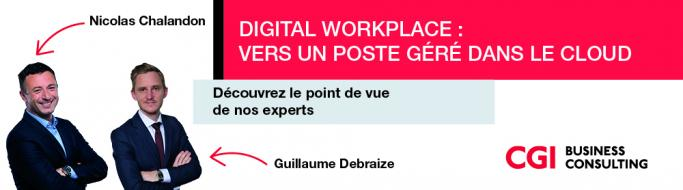 Digital workplace : vers un poste géré dans le cloud