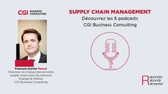 Photo de l'expert François Xavier Forest CGI pour le podcast supply chain