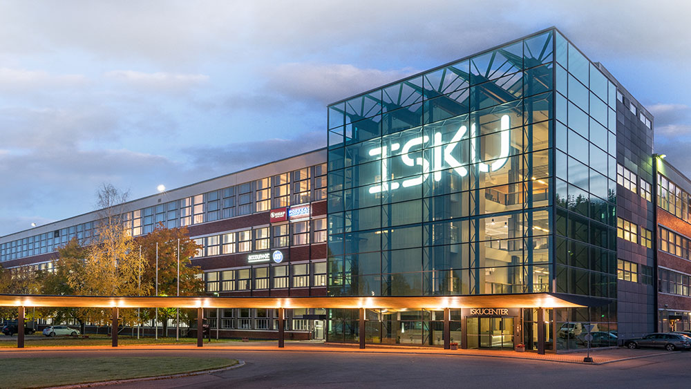 furniture manufacturer ISKU building