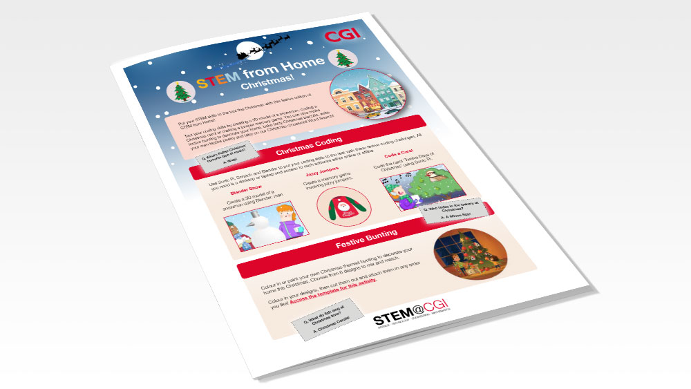 CGI STEM from Home - Christmas