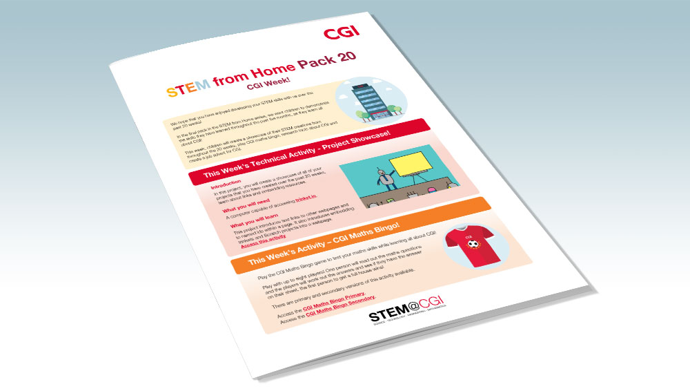 CGI STEM from Home Pack 20 - CGI
