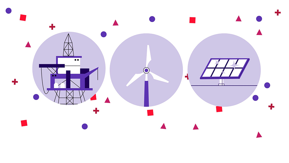 Digital Transformation- electric transformers, wind mill and Solar energy