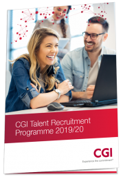 CGI Talent Programme 2019-20 Brochure