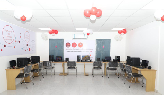 CGI inaugurates technology lab and digital library for visually impaired children in Chennai
