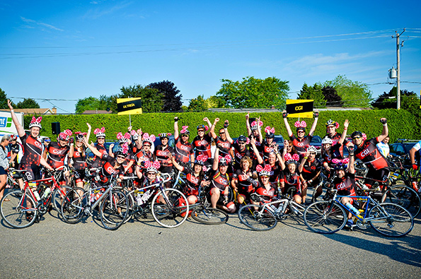 Thirty-two CGI members participated in the 2015 Enbridge Ride to Conquer Cancer and raised $100,000 for the cause.