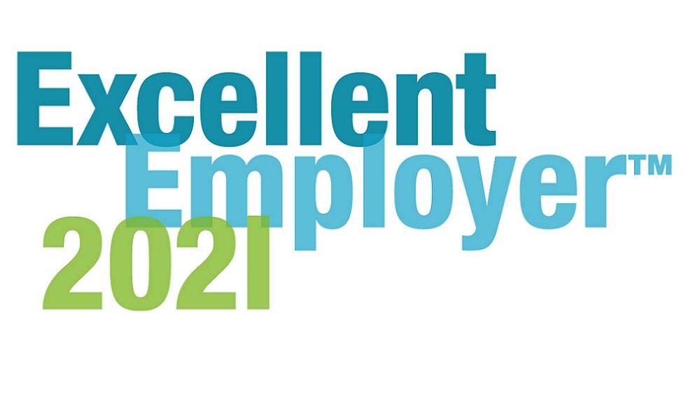 Excellent employer 2021 logotype