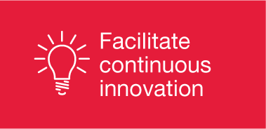 Facilitate continuous innovation
