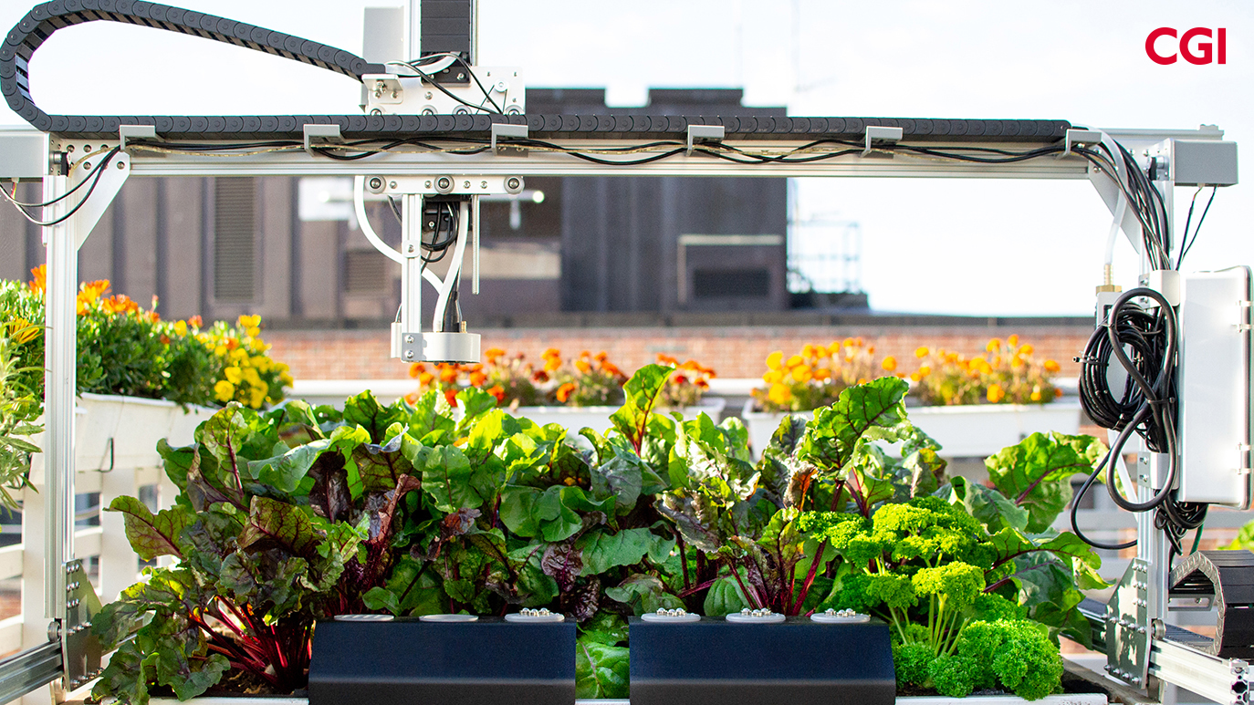 Urban Farm Lab Oslo Farm Bot CGI
