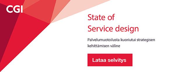 Lataa State of Service Design -selvitys
