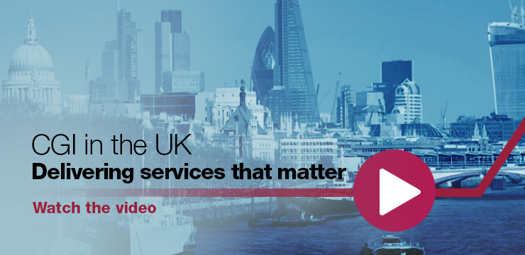 CGI UK delivering services that matter