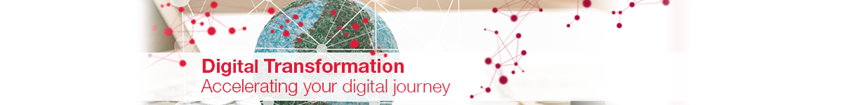 Digital transformation masthead image