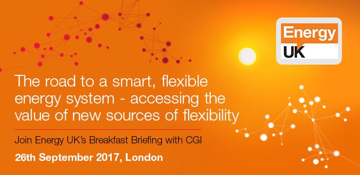 CGI to sponsor Energy UK Breakfast Briefing on Energy Flexibility