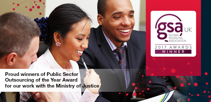 CGI Wins 'Public Sector Outsourcing Project of the Year' at Global Sourcing Association (GSA) Awards