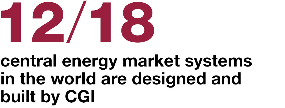 12/18  central energy market systems in the world are designed and built by CGI