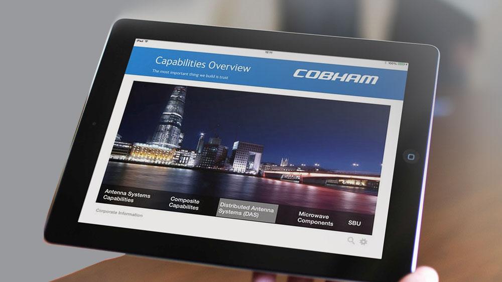 Cobham iPad Presentation Tool