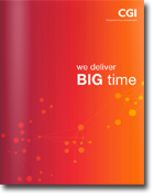 CGI We Deliver Big Time brochure