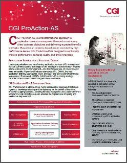 CGI ProAction-AS