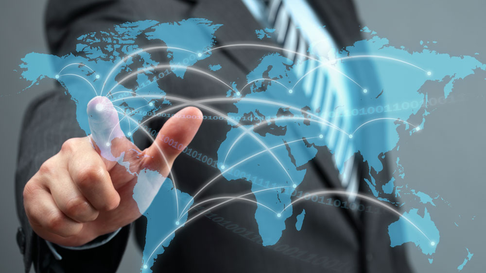 it outsourcing global delivery human hand communications network