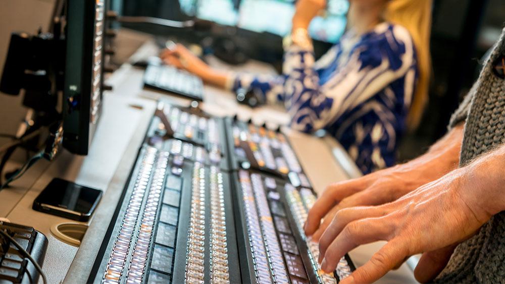 Newsroom using OpenMedia StudioDirector