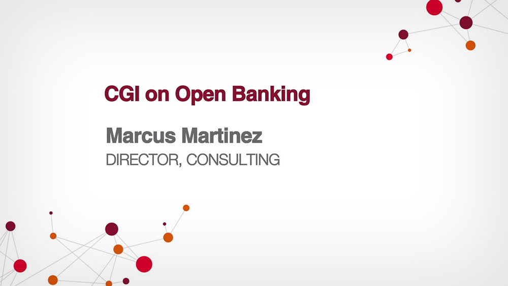 CGI on open banking