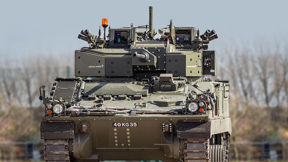 UK Defence Land Vehicle
