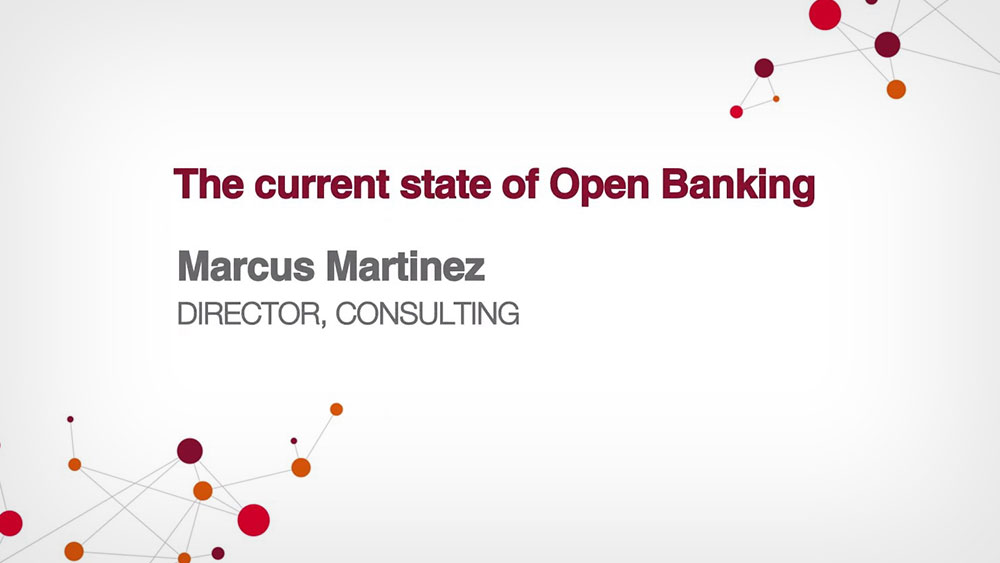 The current state of open banking