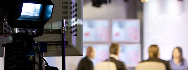 Bilde fra et tv studio