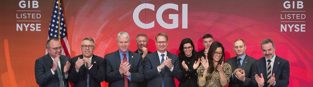CGI rings NYSE closing bell