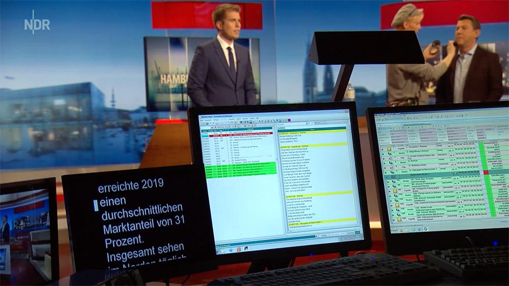 OpenMedia StudioDirector newsroom solution at NDR