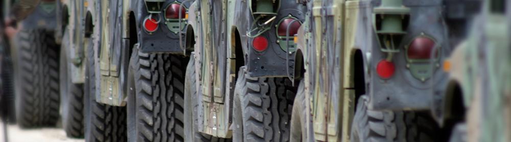 passive RFID Army trucks