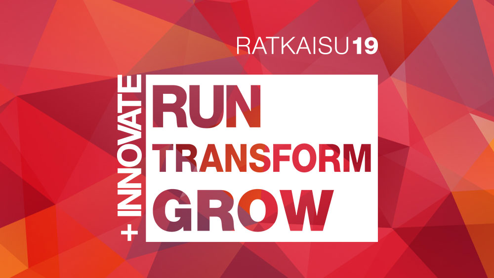Ratkaisu19: Innovate, Run, Transform, Grow