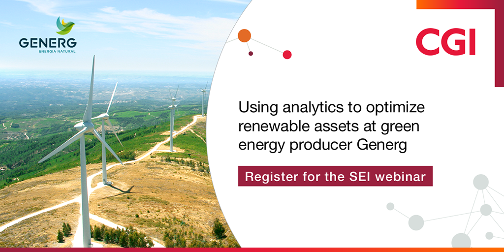 Using analytics to optimize renewable assets at green energy producer Generg - SEI webinar