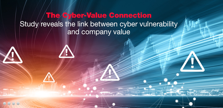 The Cyber-Value Connection - Study reveals the link between cyber vulnerability and company value