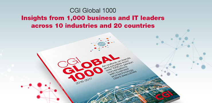 CGI Global 1000 - Insights from 1,000 business and IT leaders across 10 industries and 20 countries