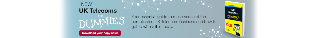 New Book – UK Telecoms For Dummies