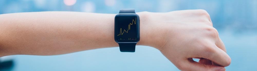 smart watch close up like a utilities provider