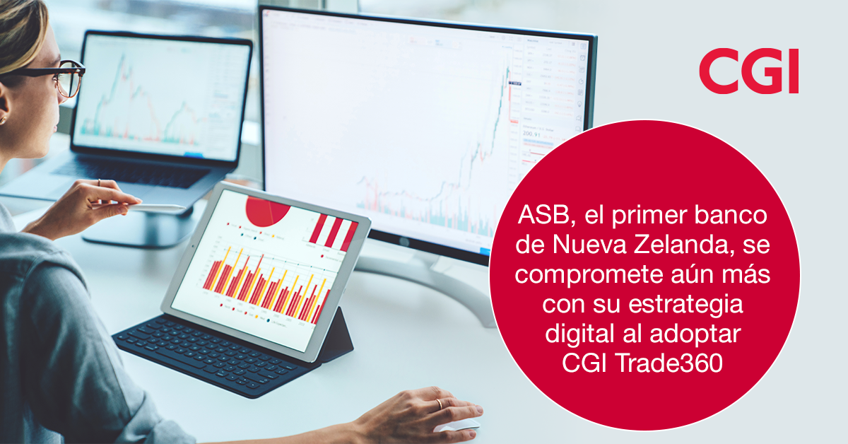 ASB se compromete con su estrategia digital al adoptar CGI Trade360