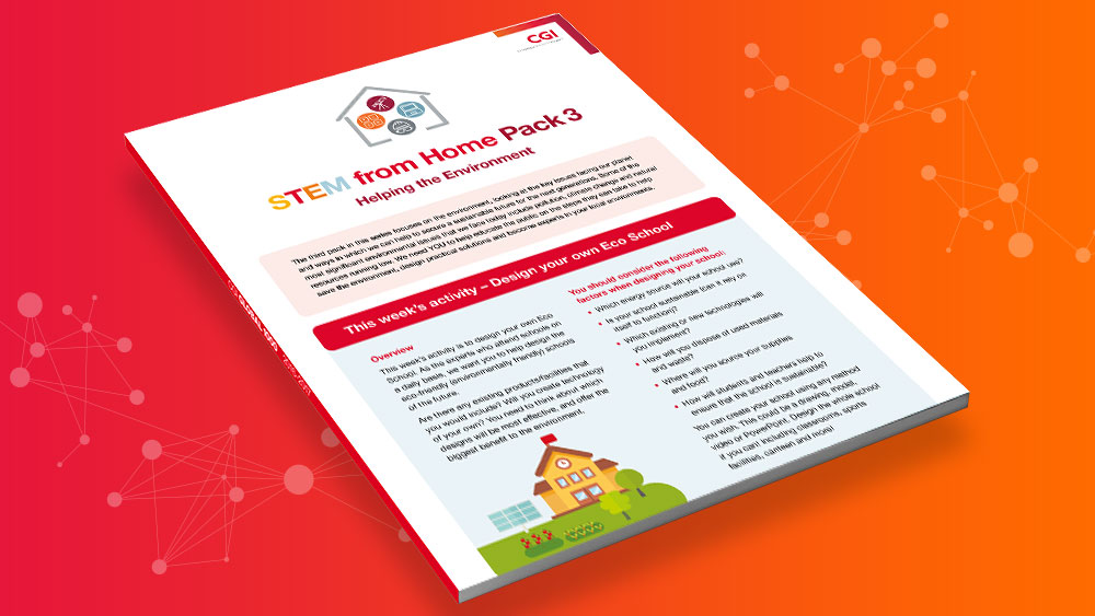 STEM from Home - Resource Pack 3 - Helping the Environment