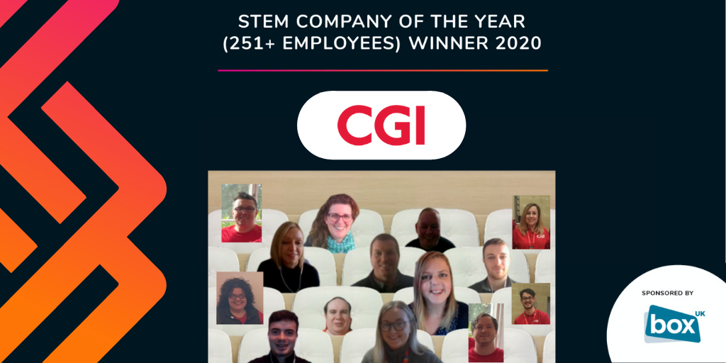 CGI Members attending th virtual Wales STEM Awards