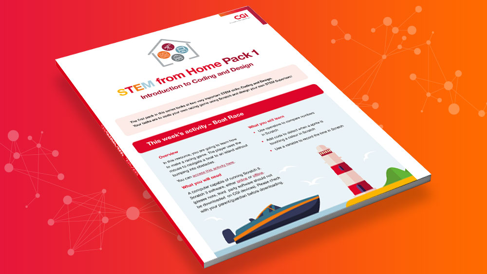 STEM from Home - Resource Pack 1 - Introduction to Coding and Design