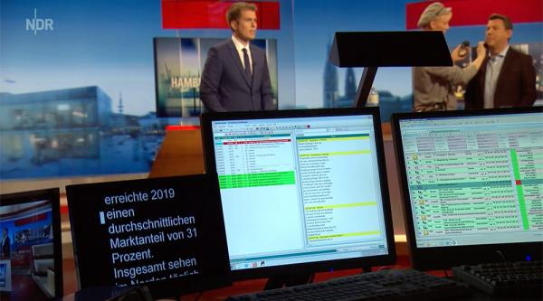 OpenMedia StudioDirector newsroom solution at NDR