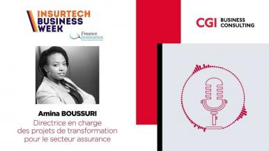 Podcast Finance Innovation x Amina Boussuri - CGI Business Consulting