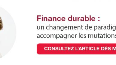 Article sur la finance durable