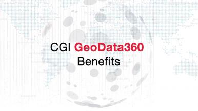 Technology benefits of industrialising your application with CGI GeoData360
