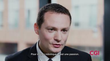 Découvrez les acteurs de l'initiative Branchés sur vos rêves de CGI : Vincent Luauté