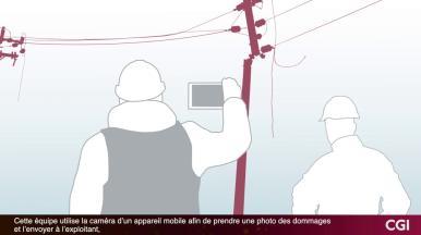 Solutions numériques de gestion des pannes électriques