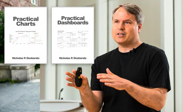 World leading visualization expert Nick Desbarats