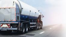 oil and gas tanker truck